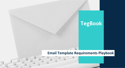 Email Template Requirements Playbook