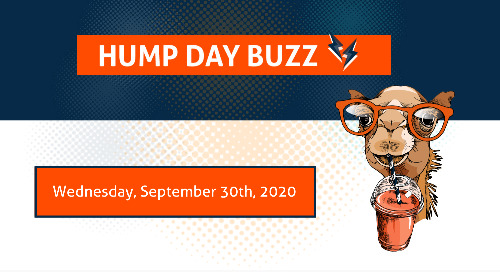 Hump Day Buzz for Wednesday, September 30, 2020
