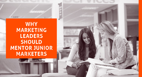 Why Marketing Leaders Should Mentor Junior Marketers