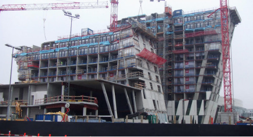 Bella Hotel by Ramboll - Highly Complex Structure Modeled with Tekla Structures