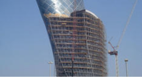 Capital Gate Tower - Tekla Solutions Helps Craft Even the Most Complicated Designs