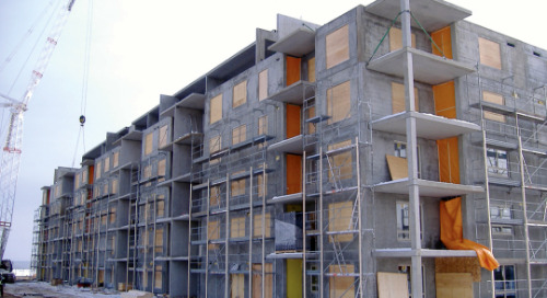Eagle Ridge Residential Development - A Design-To-Fabrication Precast Concrete Project Carried Out Completely within Tekla's BIM Software