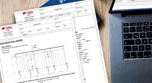 Hollingsworth Pack Designs for Structural Safety with Tekla Tedds and Tekla Structural Designer