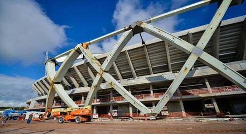 30% Efficiency Gain on Football Stadium Construction