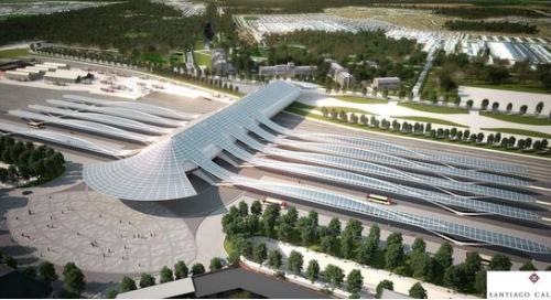 A Beautiful Precast Concrete Garage: Gare de Mons