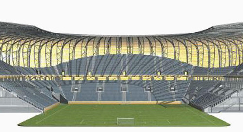 The PGE Arena in Gdansk: A Sports Arena Modeled Using Tekla BIM Software