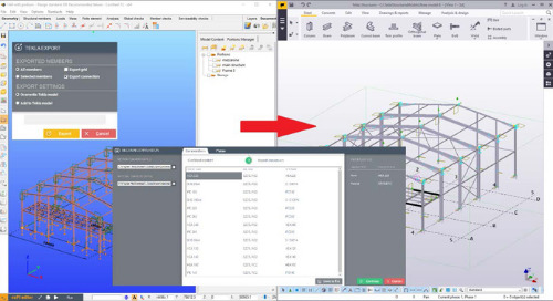 ConSteel Develops Bi-Directional Link to Tekla Structures
