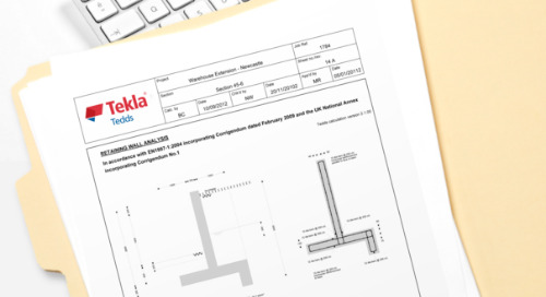 RJH Construction Design : Competes Effectively and Wins a Range of Work with Tekla Tedds