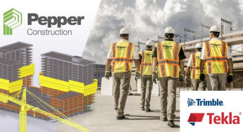 Uso de la construcción digital en el cálculo, planificación y vertido de concreto