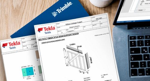 Leveraging Technology for Fast and Accurate Design with Tekla Tedds