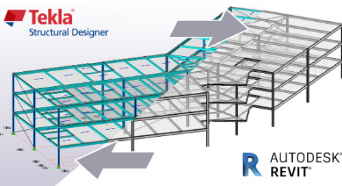 Integration Between Tekla Structural Designer and Revit
