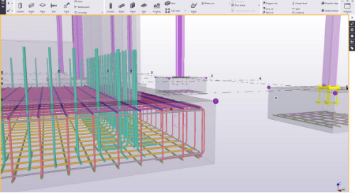 Foundations in Tekla Structures