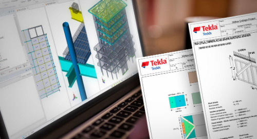 Fast, Efficient Analysis & Design Software From Tekla