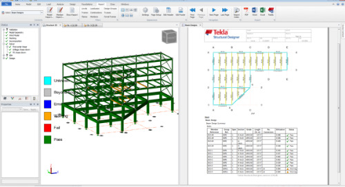 Getting Information out of Tekla Structural Designer