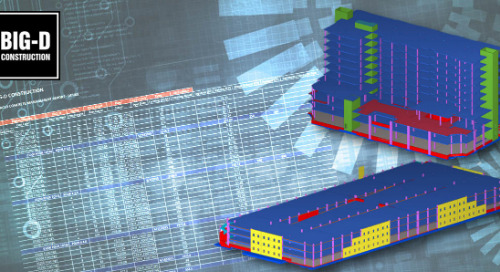 For Big-D, Choosing Tekla to Improve Concrete Building Business Performance Was As Easy As ABC