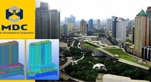 Makati Development Corp., One of The Top Companies in the Philippines Adopt Tekla for Concrete construction
