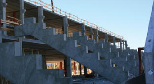 Precast Concrete and Steel in Productive Harmony