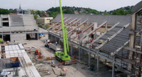 Kynningsrud Prefab: Tekla Structures Allows Easy Coordination Between Both Steel and Concrete Structures