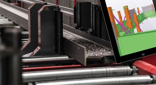 Leach Structural Steelwork Optimizes Fabrication with Accurate and On-time Information