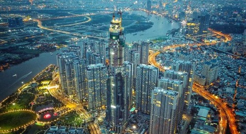El edificio más alto del Sudeste Asiático construido con Tekla y Trimble