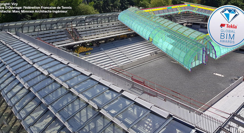 El estadio Roland Garros modernizado con BIM