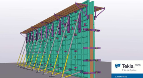 Three Things You Need to Know about Tekla 2020's New Formwork Tools