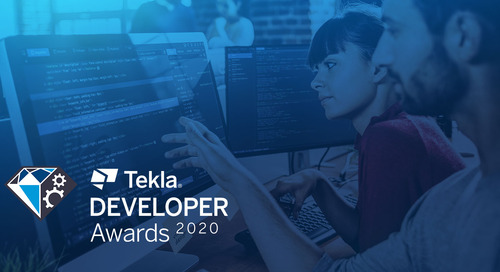 5 Reasons Why Every Developer Should Enter the 2020 Tekla Developer Awards