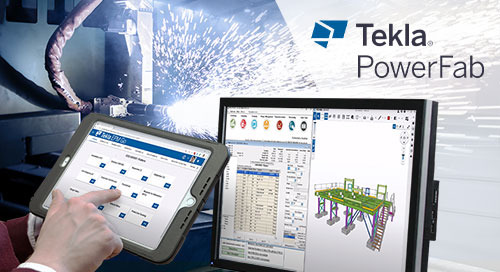What's New in Tekla PowerFab 2020i?