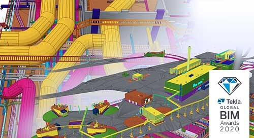 Blominmäki Wastewater Treatment Plant: BIM Based Project Communications with Trimble Connect and Tekla Model Sharing