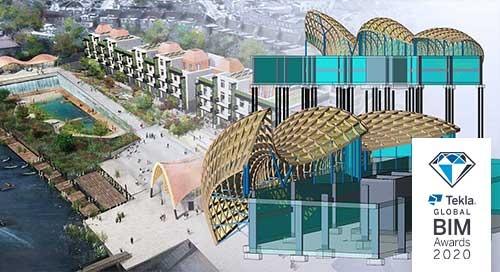 Modeling wind forces with Tekla Structural Designer