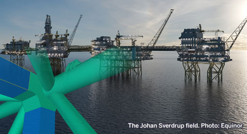 Transforming the Construction of North Sea Oil Platforms
