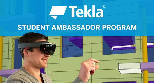 Tekla Student Ambassador Program launched in Finland