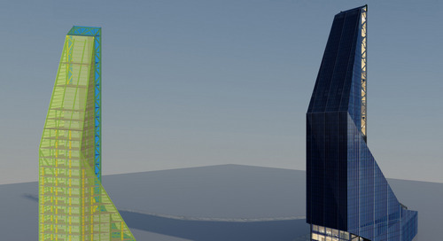 Students fly high with unique skyscraper design