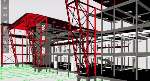 Sharing a federated BIM model in advanced phases