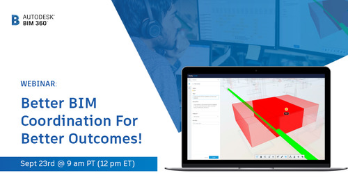 [Webinar] Better BIM Coordination For Better Outcomes
