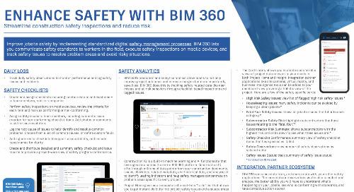 Enhance Safety with BIM 360