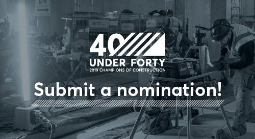 Calling All Global Construction Professionals: Nominations Are Open for 40 Under 40 – Submit Today!