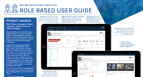 [Guide] BIM 360 Prediction & Analytics User Guide for Project Leaders!