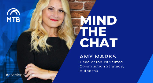 Time to Digitize the Construction industry | Mind the Chat with Amy Marks (Autodesk)