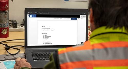 Autodesk BIM 360 Announces Integration with Microsoft Office 365