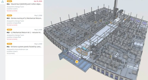 Enhanced Clash Detection: Introducing Issues Functionality in BIM 360's Model Coordination
