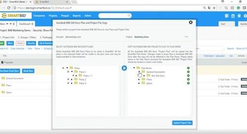 How SmartBid Construction Bidding Software Improves Preconstruction Workflows