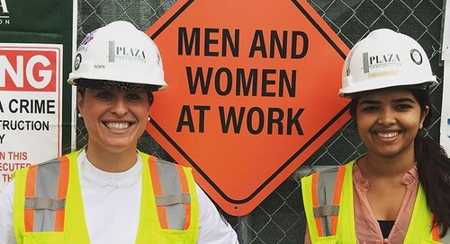 Plaza Construction: Small Changes Make a Big Impact for Women in Construction
