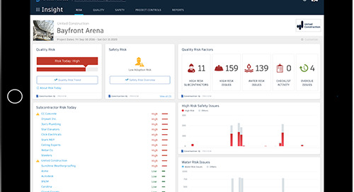 How to Manage Project Risk with Construction Data Analytics: Introducing Construction IQ