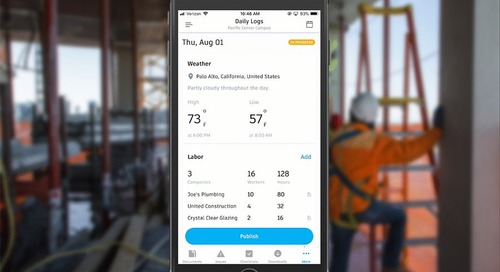 How The New Daily Logs Feature Can Enhance Your Construction Project Management