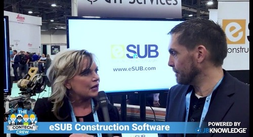 Subcontractors Can Easily Manage Construction Drawings and Documents with eSUB