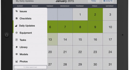 Daily Update Feature Now Available on the BIM 360 Field iPad App