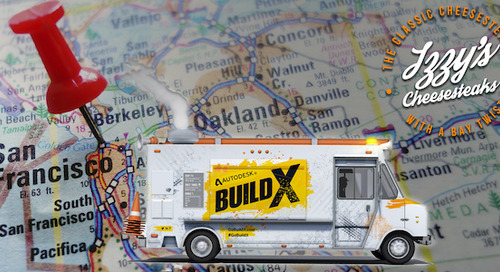 BUILD X Food Truck Heads for the SF Bay Area