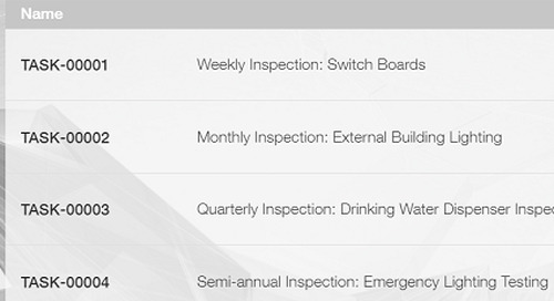 Scheduling Preventive Maintenance and Inspections