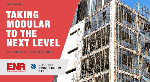 [ENR Webinar] Taking Modular To the Next Level